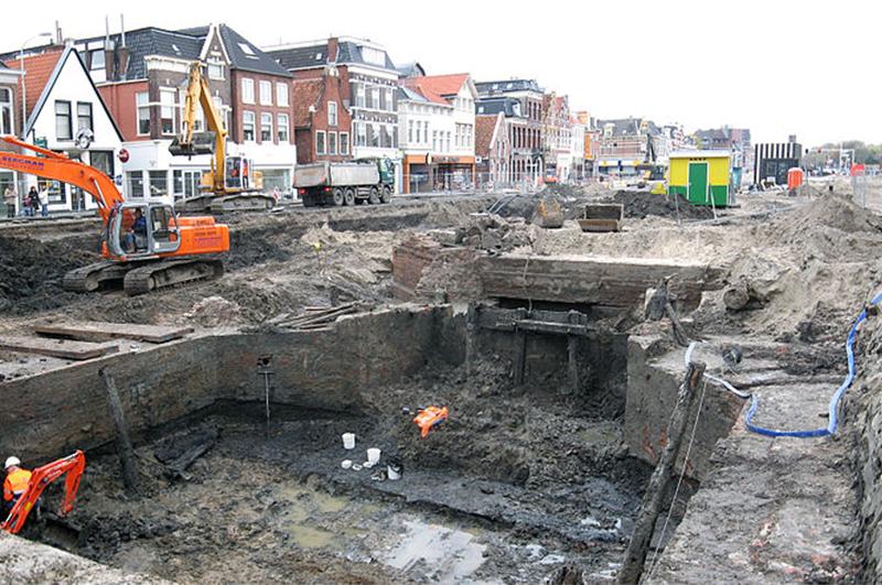 uitgraven damsterdiep